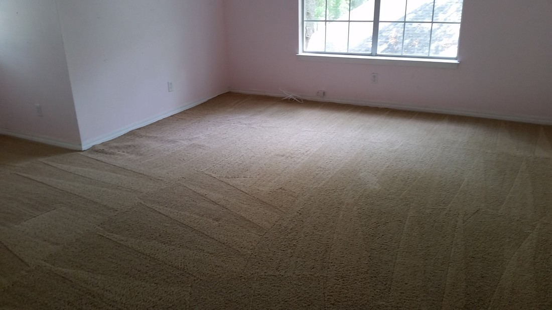 Picture of after carpet cleaning and the water stains are gone. Carpet cleaning in Daphne, AL. by Absolutely Kleen